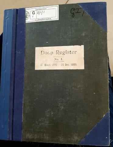 The oldest christening register of Potchefstroom
