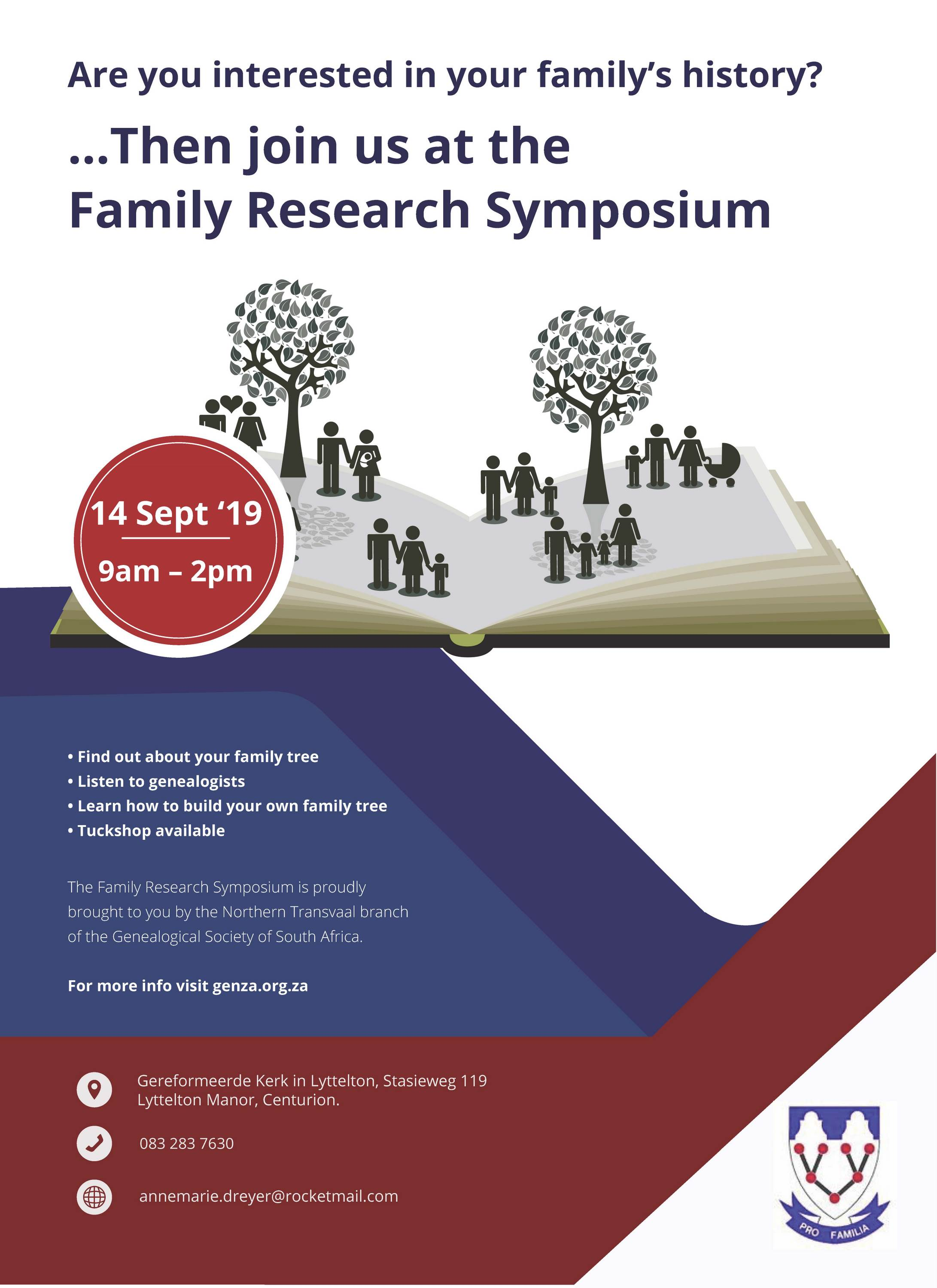 Family Research Symposium 1
